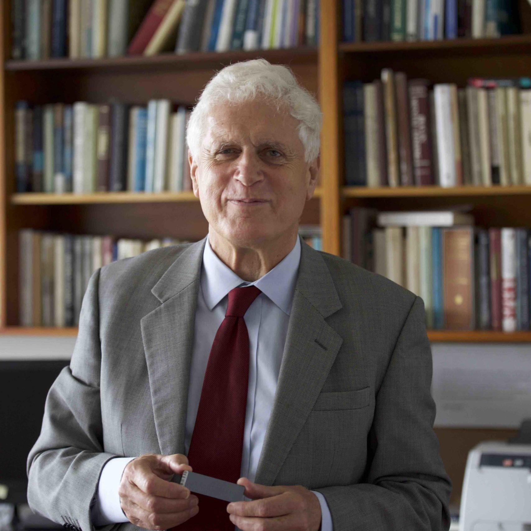 Prof Nick Martin with gene chip